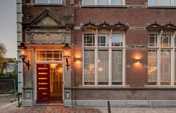 Hotel Mercier Amsterdam – buitenkant hotel
