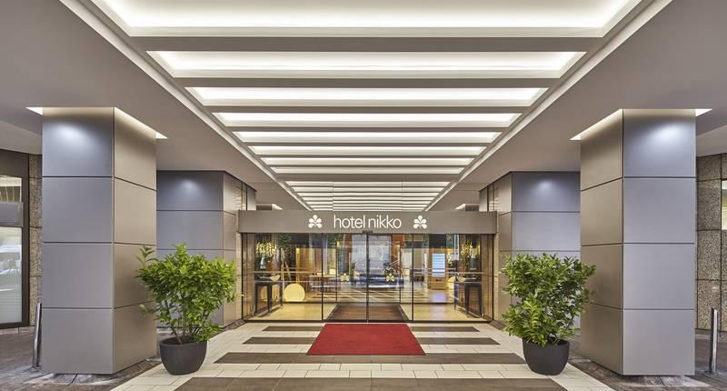 Hotel Nikko Düsseldorf – buitenkant hotel