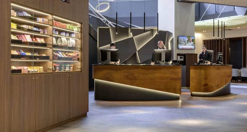 Hotel Nikko Düsseldorf – receptie