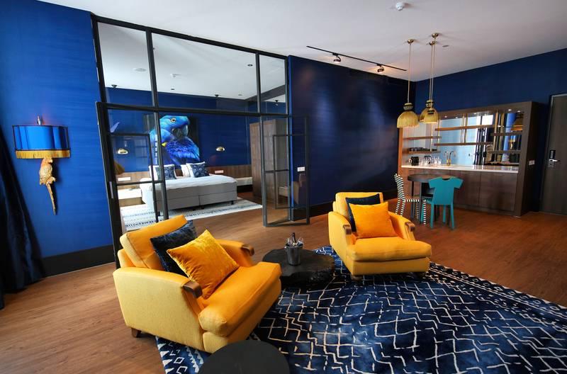 Van der Valk Hotel Den Haag – Nootdorp – Blauwe Ara Suite