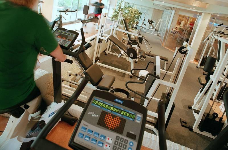 Van der Valk Hotel Volendam – fitnessruimte